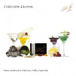 COLECCIÓN LICORES CAJA DE 6